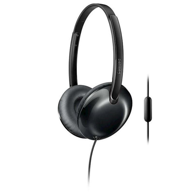 Philips Flite Ultrlite headphone with mic - black