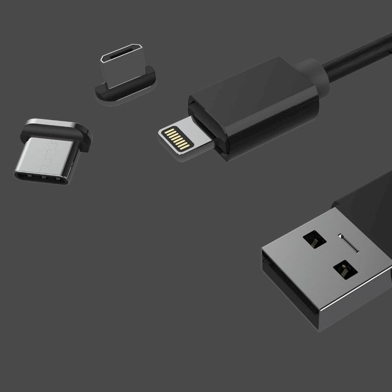 Multi Magnet Cable - black