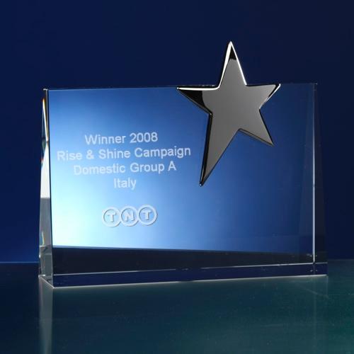 Award rechthoekig; thema ster