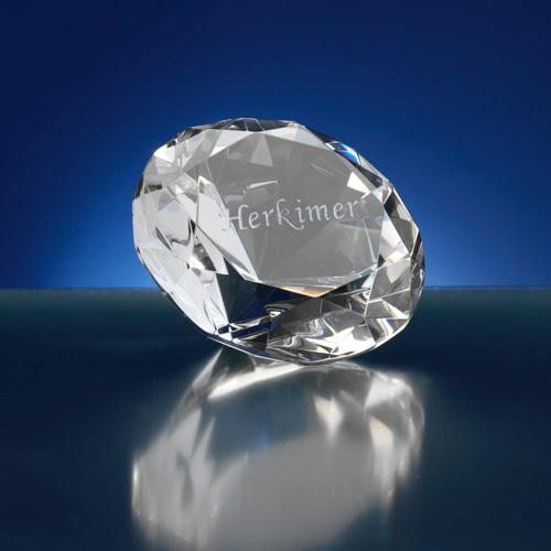 Presse papier diamant vorm