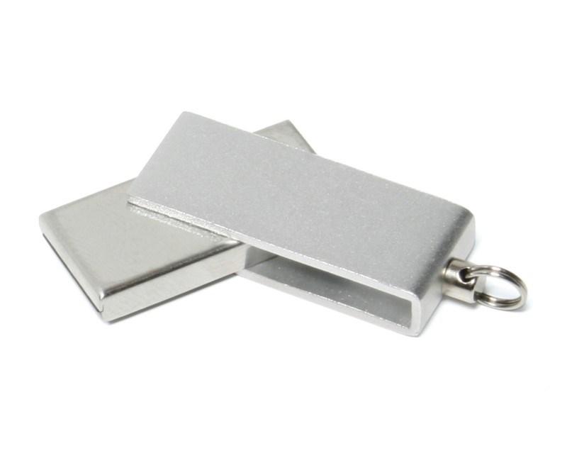 Micro Twister USB FlashDrive Zilver