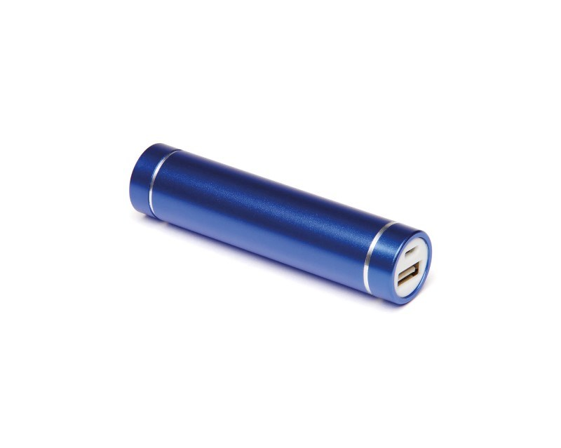 Cylinder Power Bank Zwart