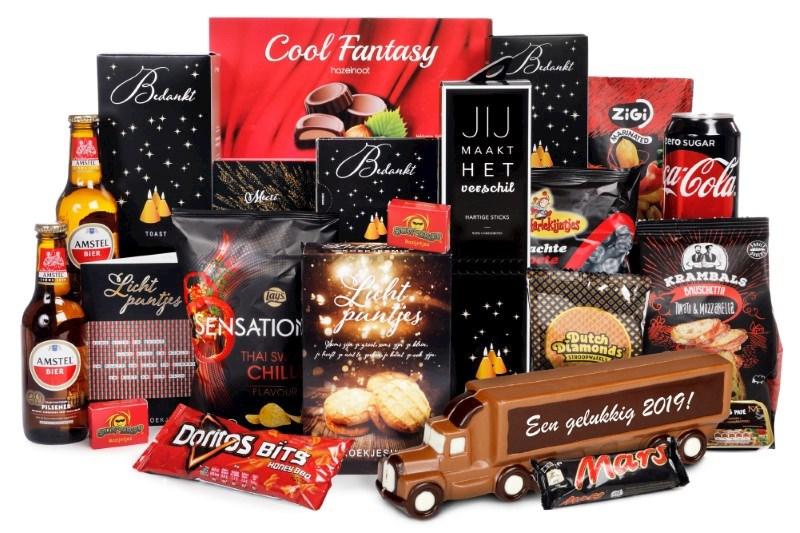 p59 2018 chocolade vrachtwagen XXL 40,00