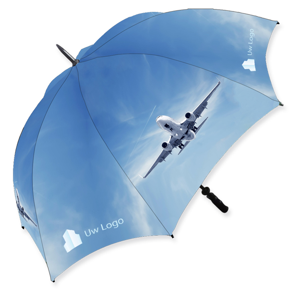 Full color paraplu 27 inch