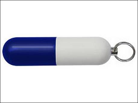 USB stick in de vorm van een pil