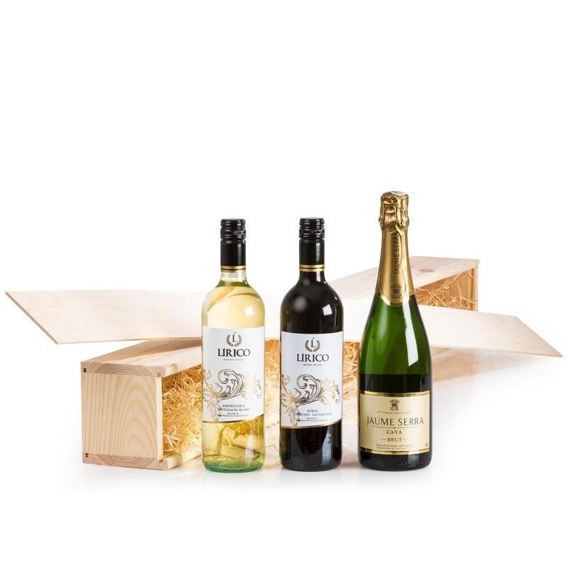 Kerstpakket Één Meter Wijn!