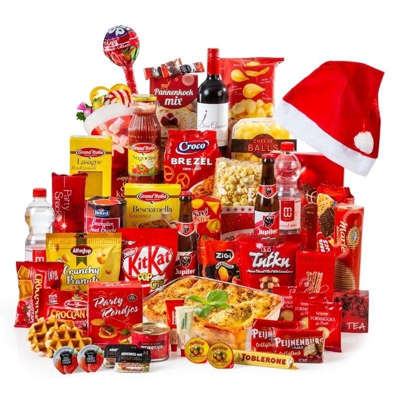Kerstpakket Groot Rood