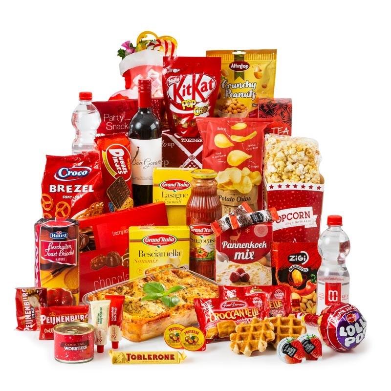 Kerstpakket Feestelijk Rood