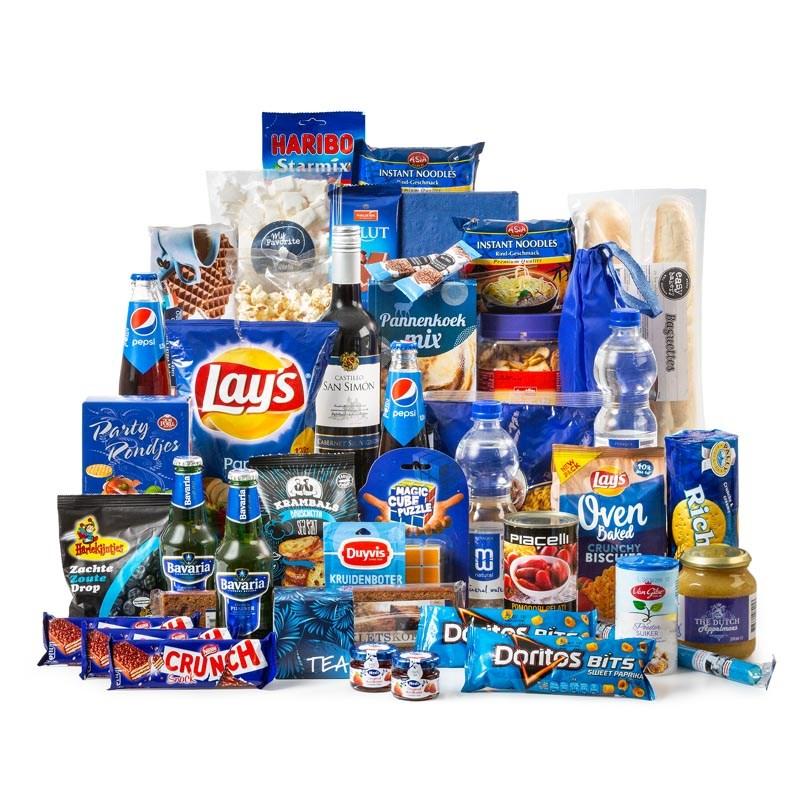 Kerstpakket Big Blue XXL