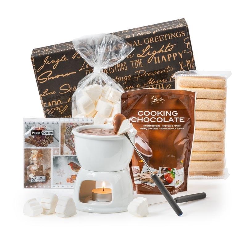 Kerstpakket Choco Fondue