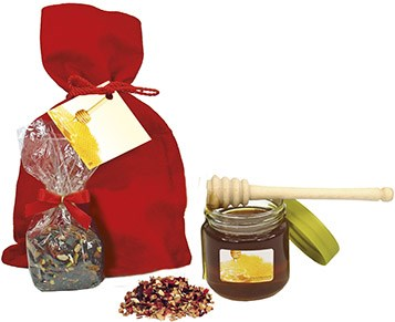 Honey Set, incl. 1-4 c digital printing