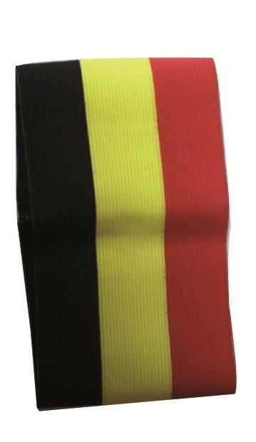 Armband in Belgische driekleur
