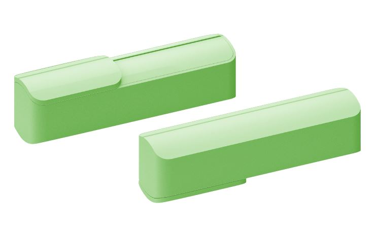 Powerbank Slide groen