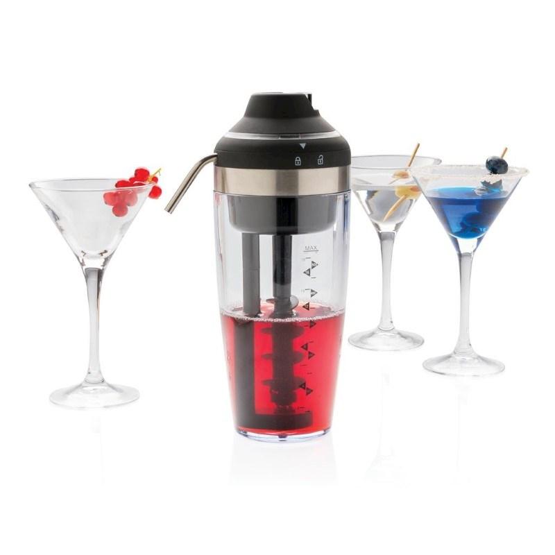 Elektrische cocktail shaker, grijs