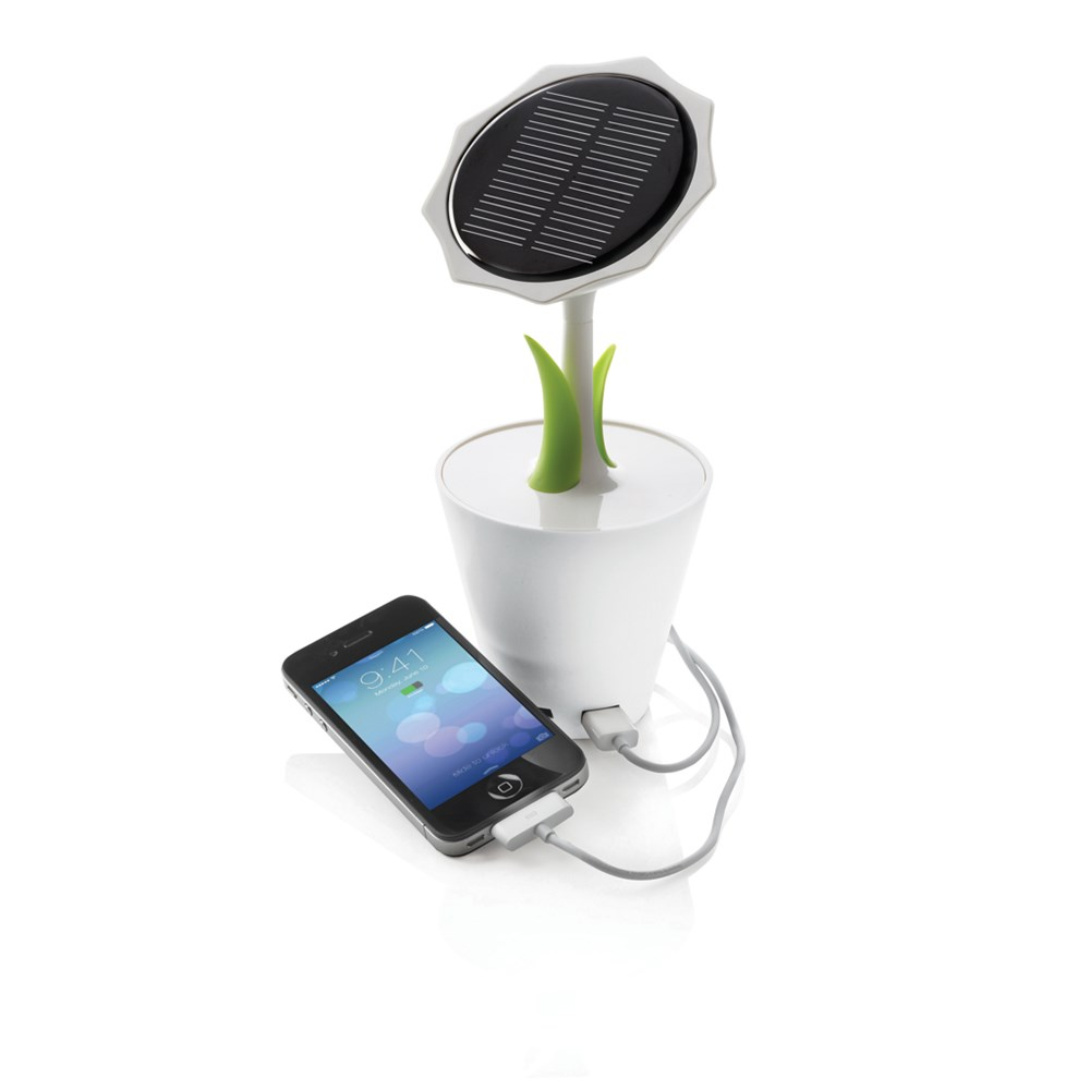 Solar sunflower 2500 mAh, wit