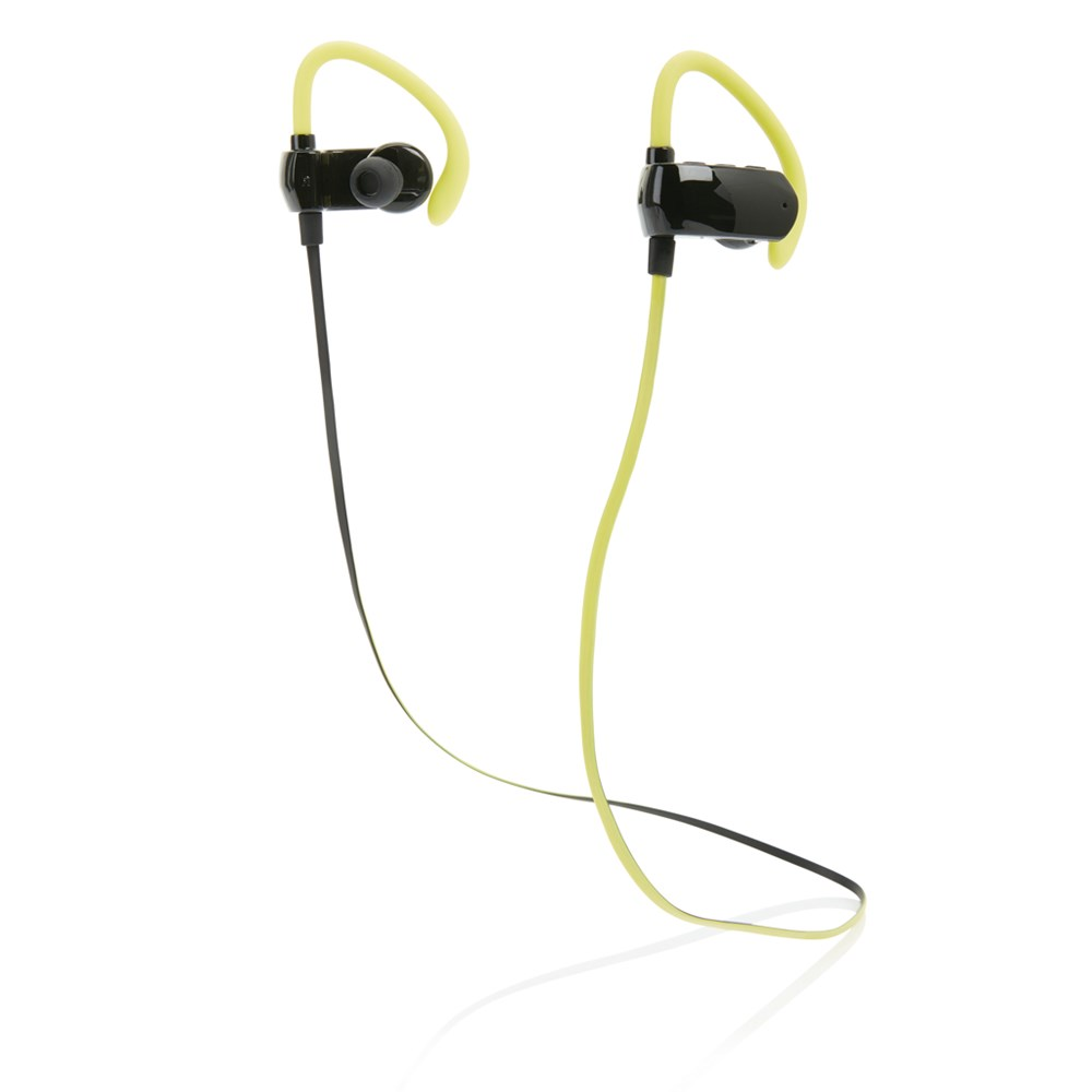 Draadloze draadloze sport oortelefoon, zwart