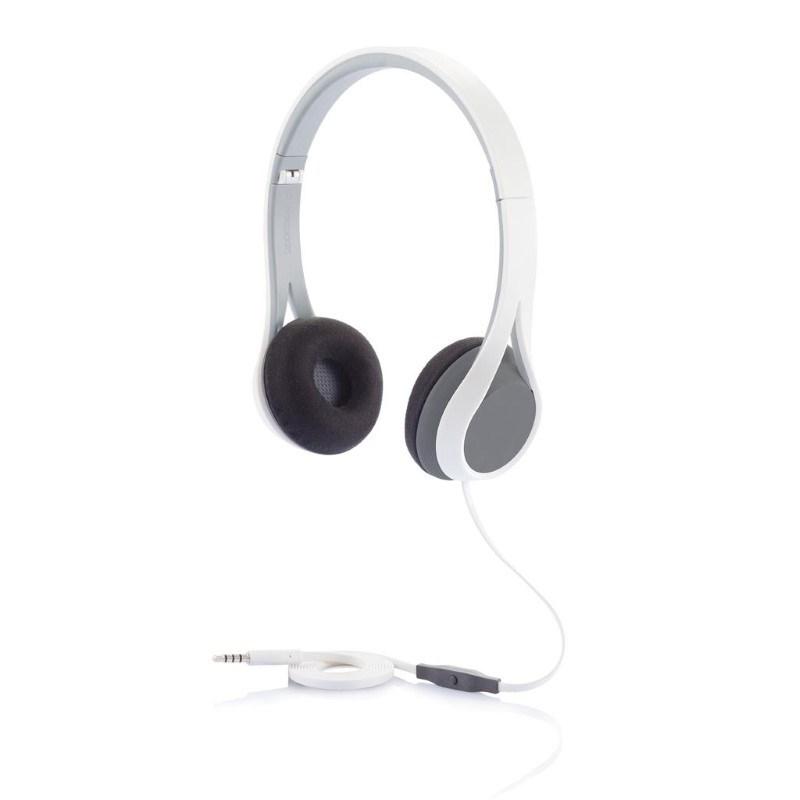 Oova hoofdtelefoon headset, grijs