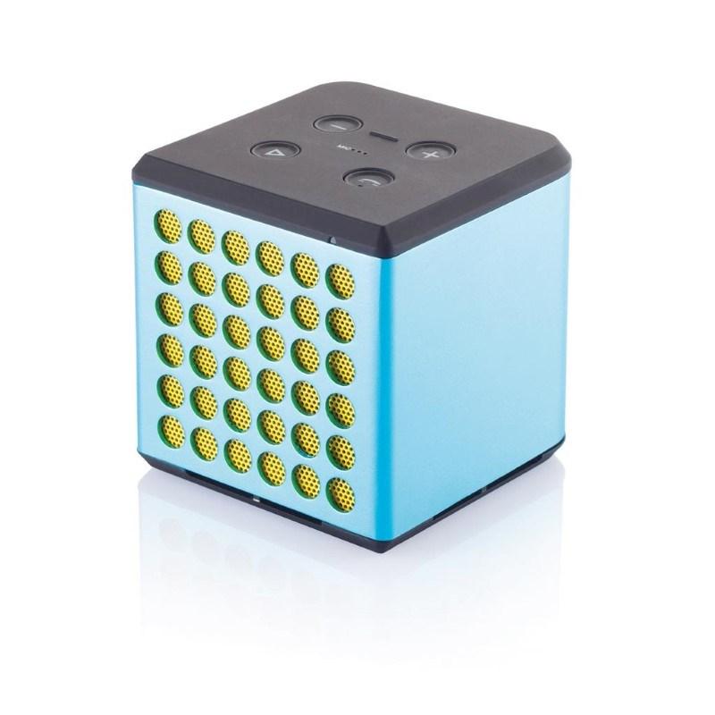 Sound bass speaker medium, blauw/geel
