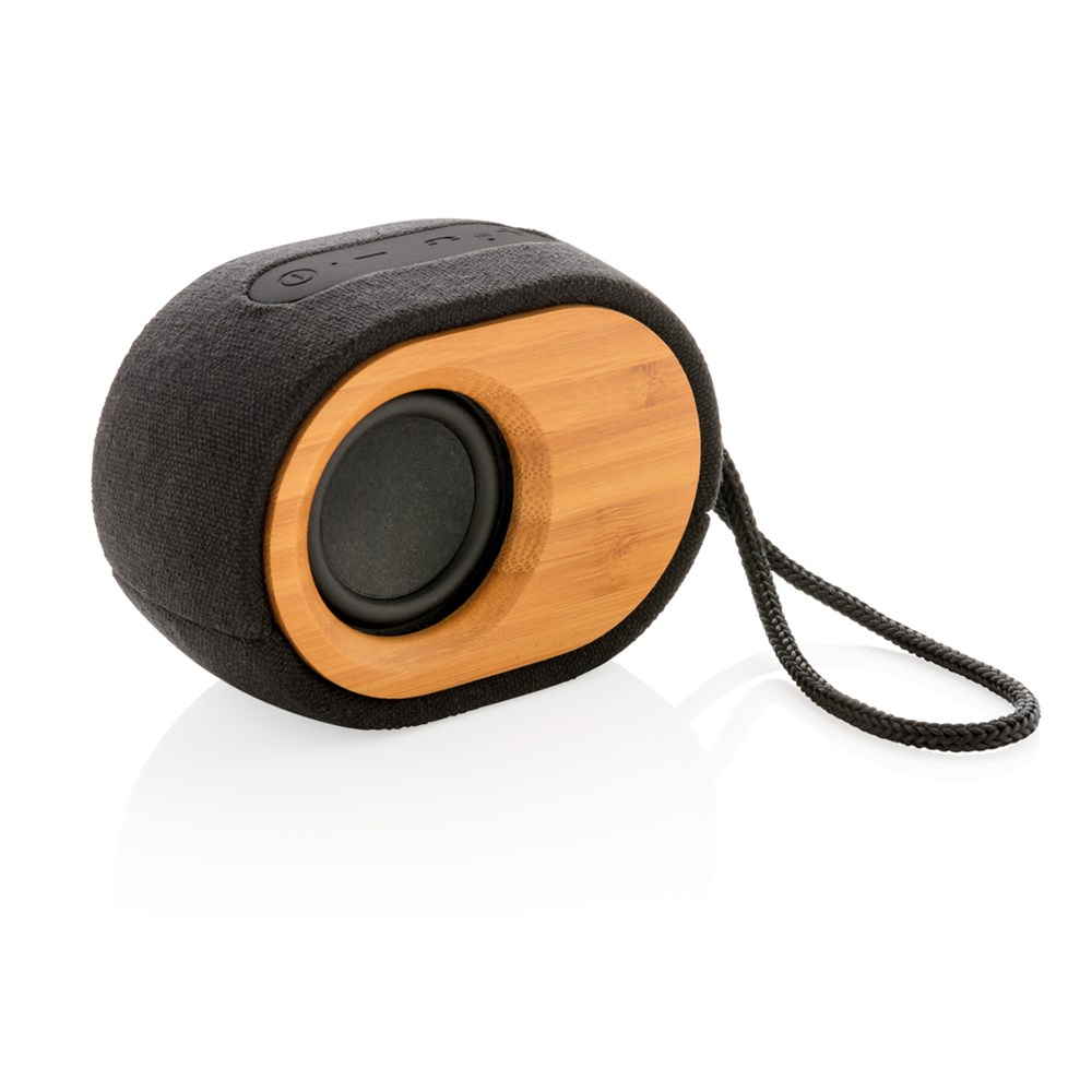Bamboo X speaker, zwart
