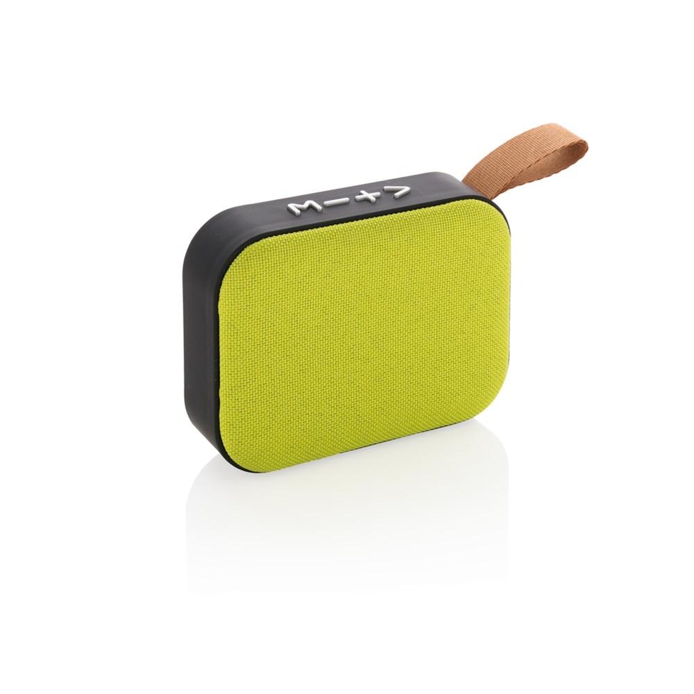 Fabric trend draadloze speaker, zwart