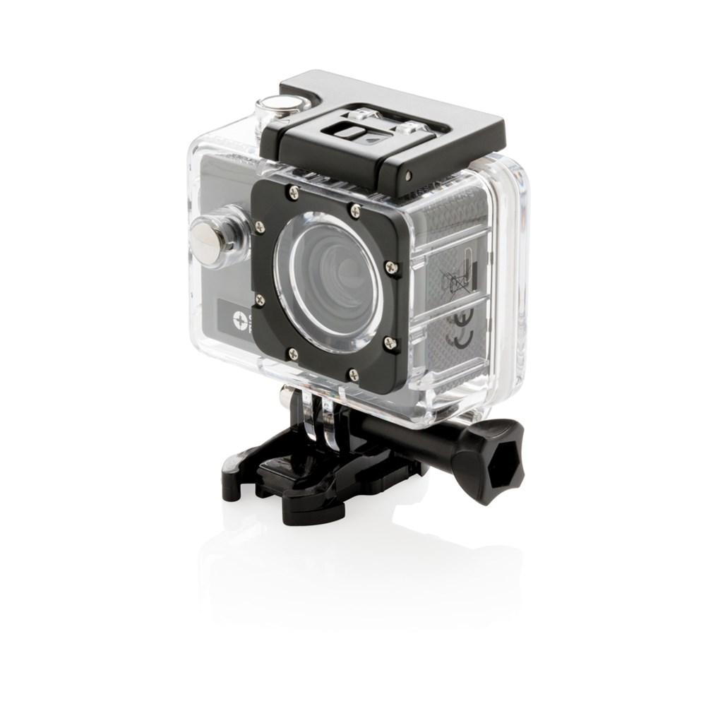 Action camera set, grijs