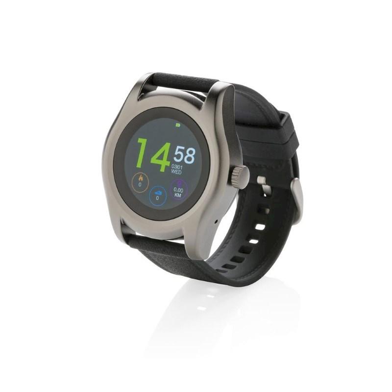 Swiss Peak smart watch, zwart