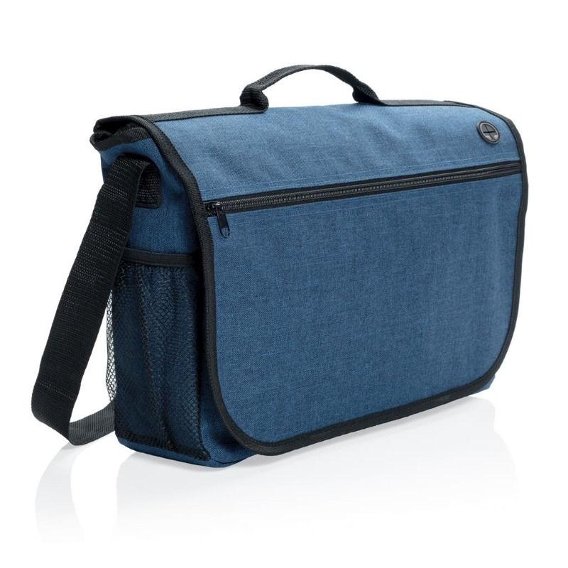Fashion messenger bag, grijs