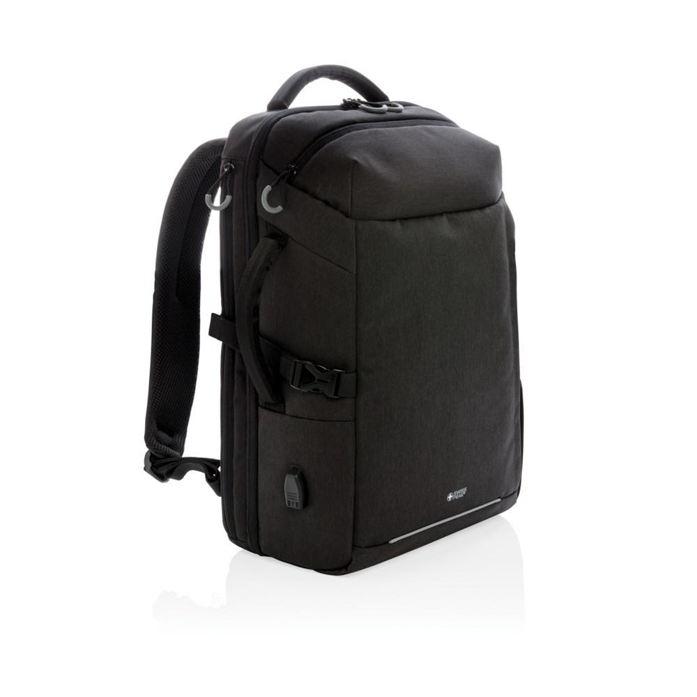 Swiss Peak XXL business & travel backpack met RFID en USB, z