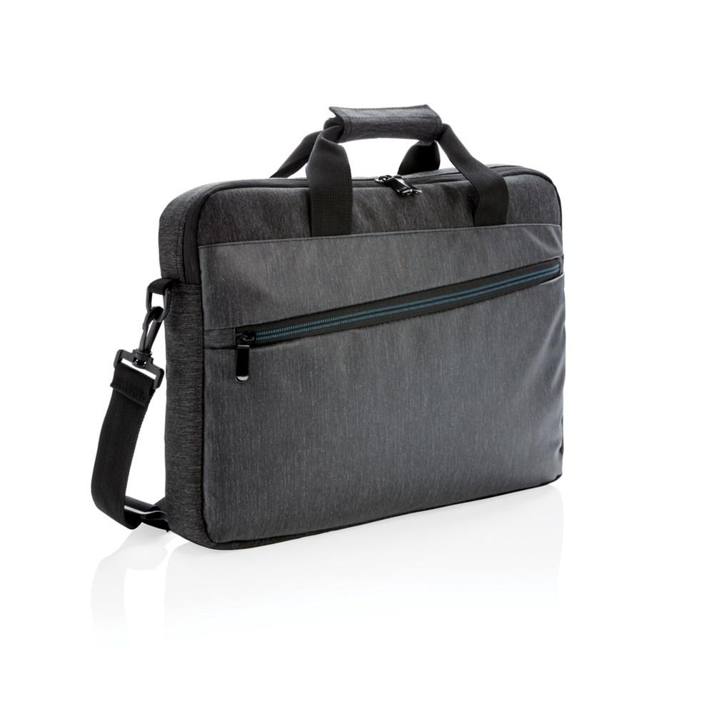 900D laptop tas PVC vrij, zwart