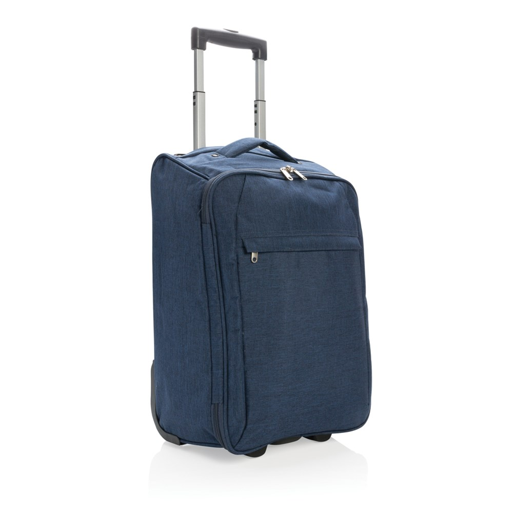 Duo tone opvouwbare trolley, antraciet