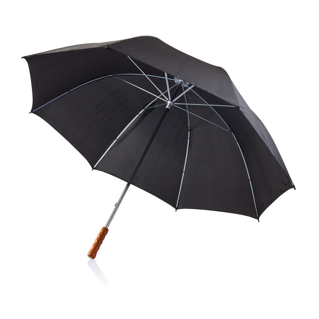 "Deluxe 30"" golf paraplu, zwart"