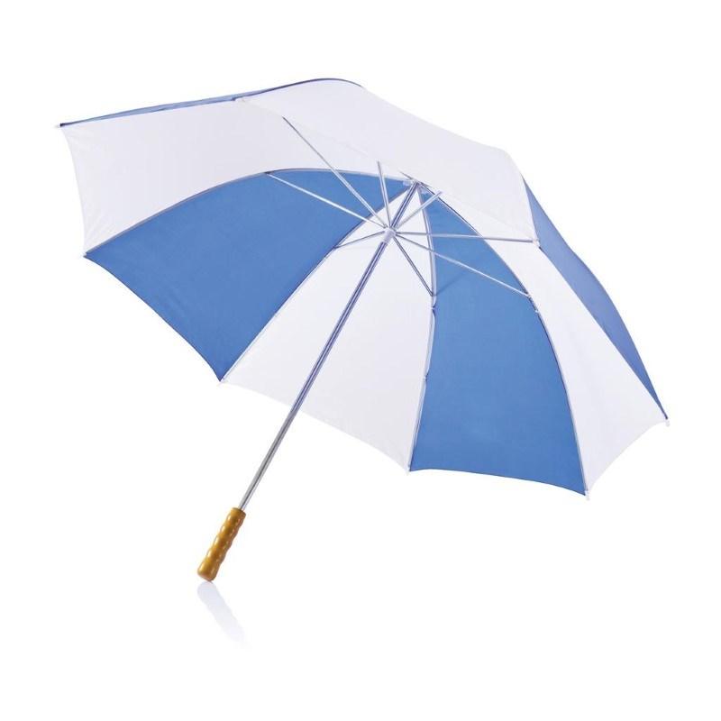 """Deluxe 30"""" golf paraplu, blauw"""