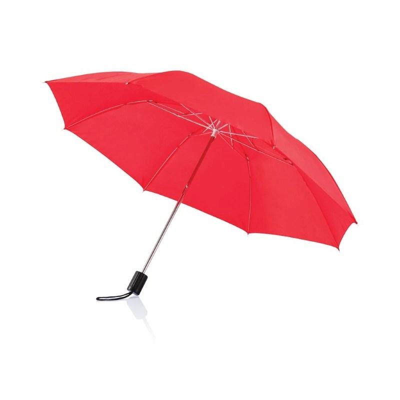"""Deluxe 20"""" opvouwbare paraplu, zwart"""