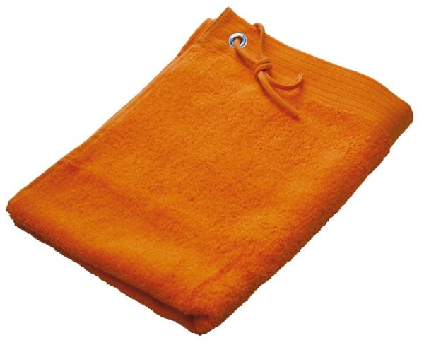 Beaulise Premium Handdoek 50x100cm Kleur oranje