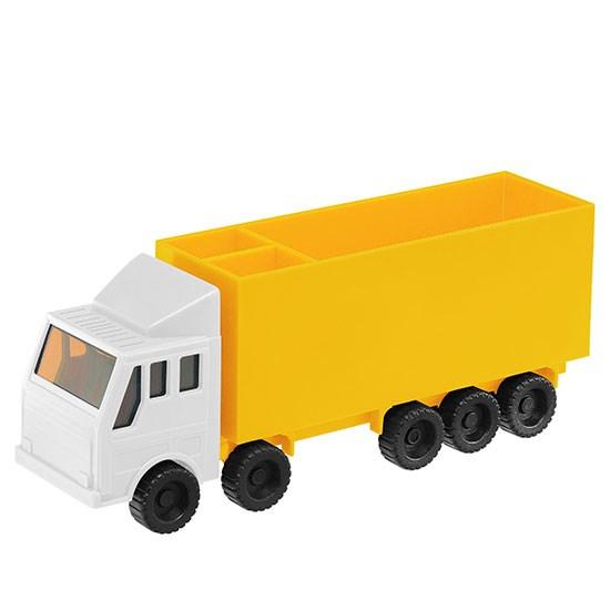 Memoblokhouder Vrachtwagen