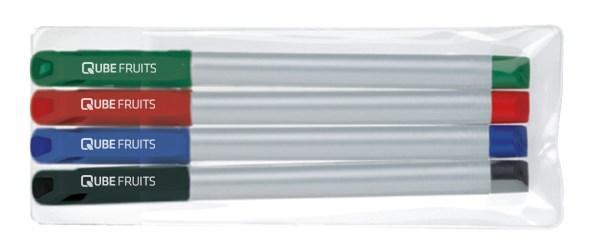 Fineliner STABILO sensor schrijfset van vier stuks