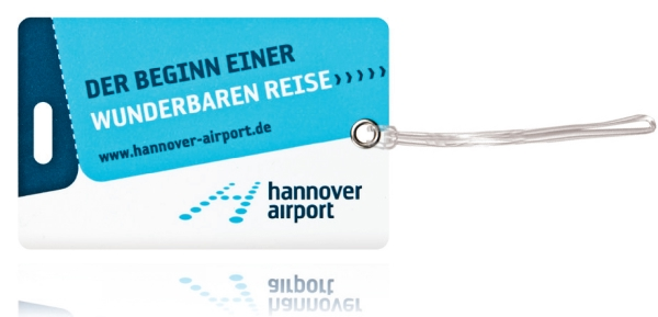 Kofferlabels HannoverAirport