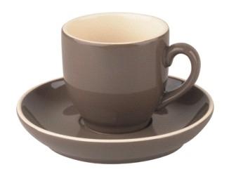 Kop en schotel Palmer koffie 14 cl