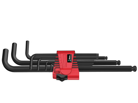 950 PKL/9 BM N Stifsleutelset, metrisch, BlackLase