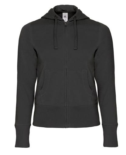 Hooded Full Zip Women B&C