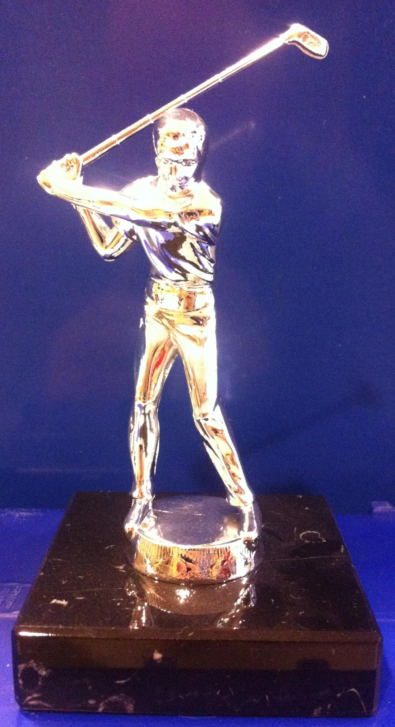 Golf Statue Men 14.5 Cm