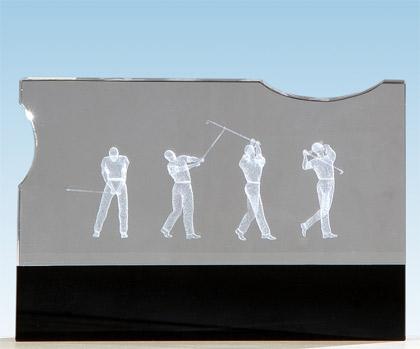 Golf Award Cristal Golfers