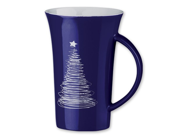 WALT CHRISTMAS ,Keramische mok met kerst motief Inhoud 330 ml