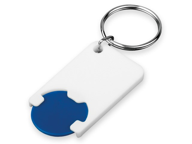 CHIPSY, plastic key ring - token with size of 1 EU