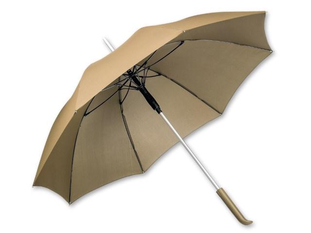 SESSIL ,Paraplu van polyester met automatische opening, plastic handvat en zakje, 8 panelen