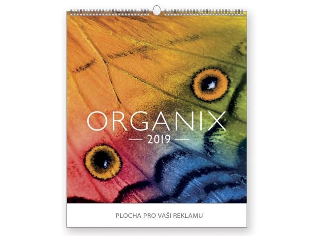ORGANIX, wall calendar, 45x48cm