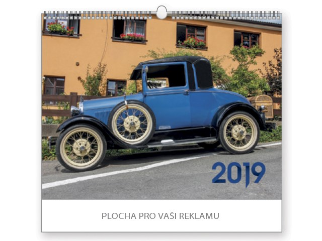 OLD TIMERS, wall calendar, 44x34 cm