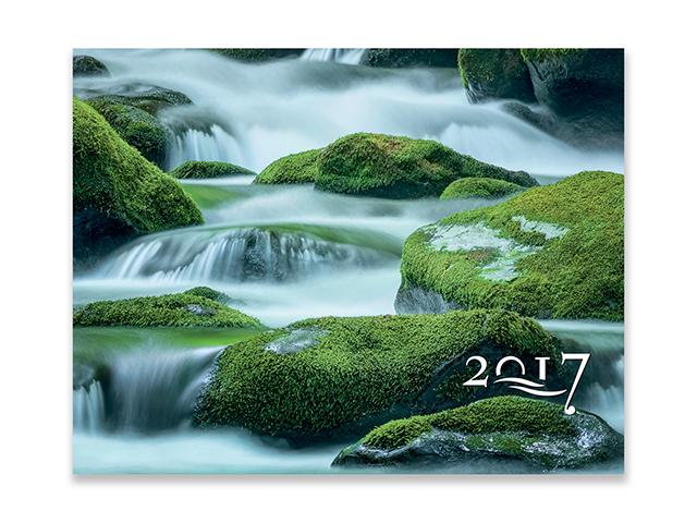 WATER, wall calendar, 44x34 cm