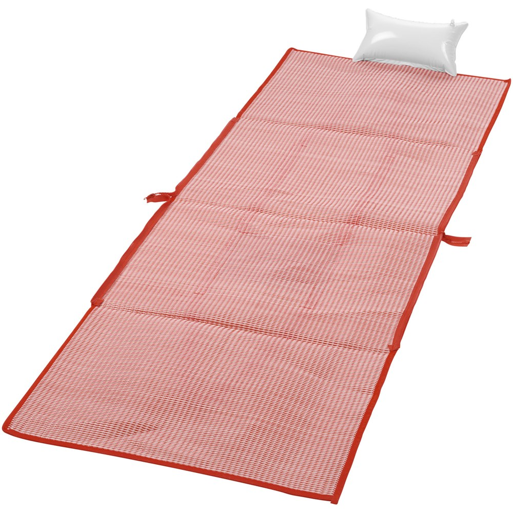 Bonbini opvouwbare strandtas met mat
