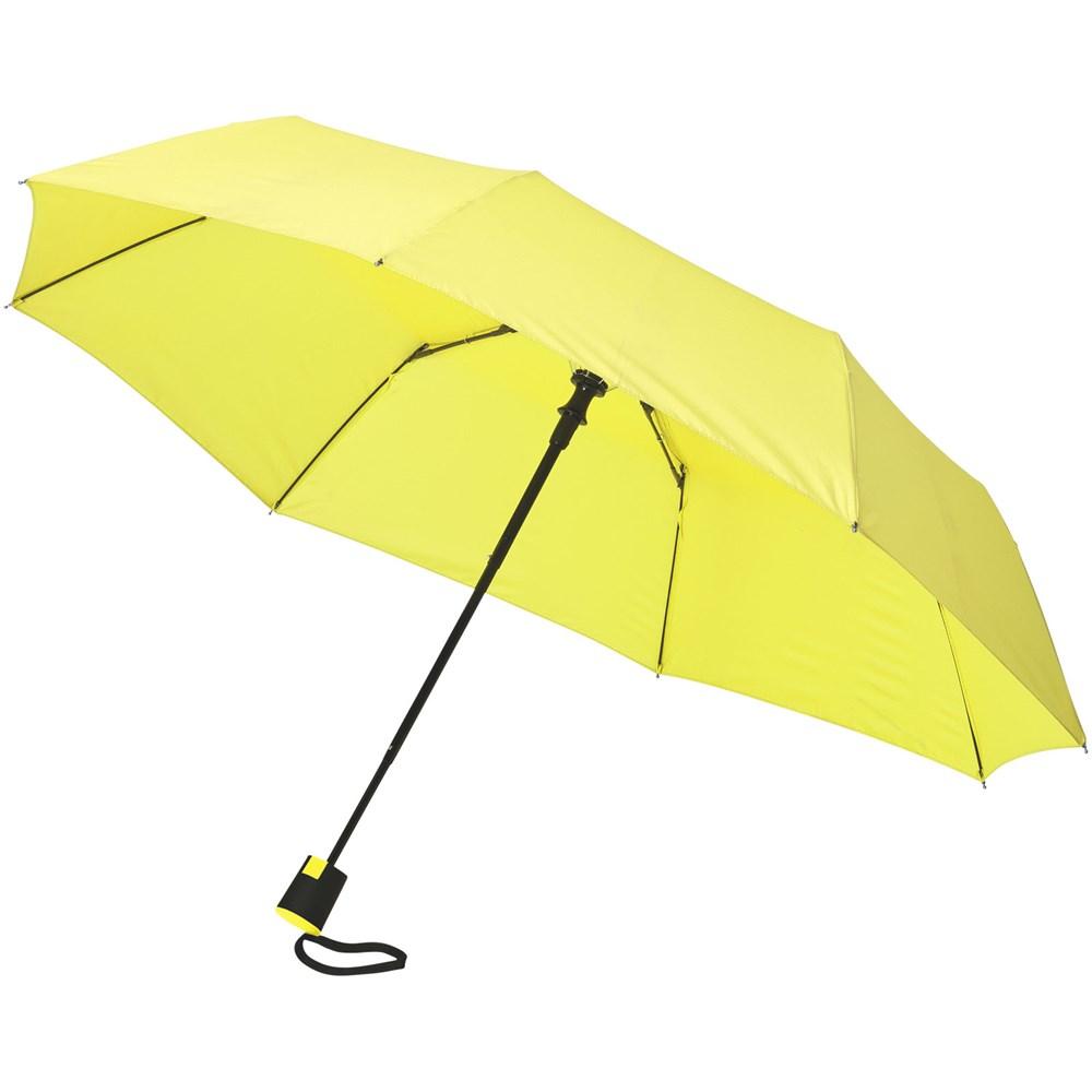 Wali 21'' 3 sectie automatische paraplu